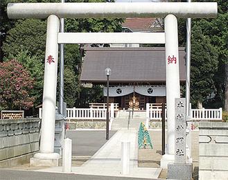 本村神明社(本村町)
