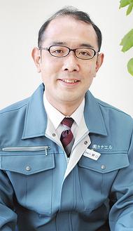 「地域への還元を目指したい」と関口社長(3月26日、同社)