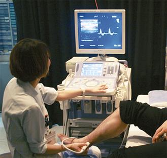 下肢動脈エコー検査
