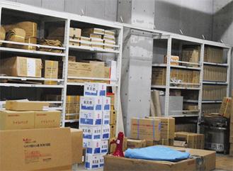 地域防災拠点の備蓄品