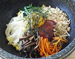 キムチの由季家「石焼きピビンパ」
