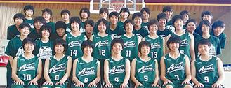 旭高・女子バスケ部