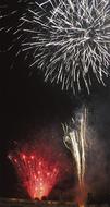 若葉台で花火大会