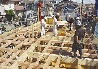 伝統工法を用いた木造住宅