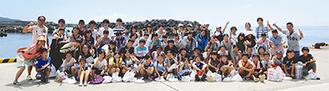 伊豆大島で。子どもたちの笑顔がまぶしい
