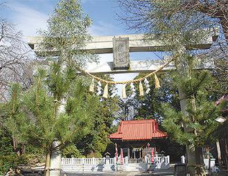 八幡神社(川井宿町66)