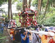 南本宿でみこし祭