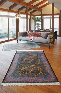 絨毯で変わる素敵な暮らし