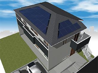 最新のZEH住宅のイメージ