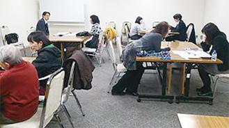 前回の相談会の様子(川崎)