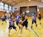 上海チームとバスケで交流