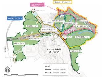 未整備区域基本計画案の計画図
