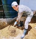 終わりの見えない土砂の撤去作業