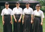 横浜商大高・大野さん、黒石さん、仲泊さん、和久井さん