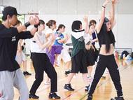 プロダンサーが高校訪問
