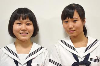 藤森さん(左)と樋口さん