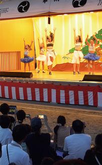 演芸で披露されたダンス