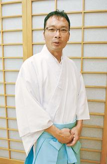 本村神明社の伊佐地宮司