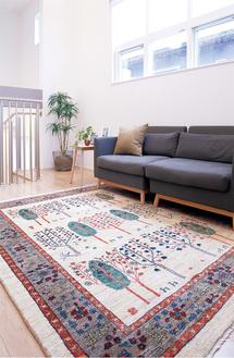絨毯で暮らしに彩りを