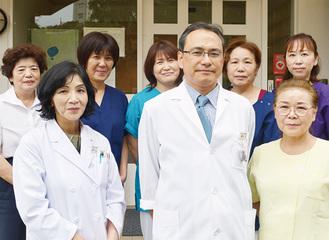 中央診療所のスタッフたち