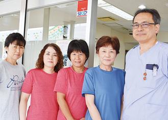 訪問看護とホームケアサービスの職員たち