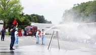 消火技術競い合う