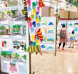 児童らが描く瀬谷の風景