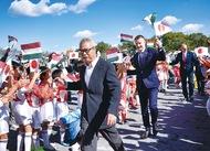 初のハンガリー大使館杯
