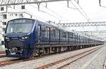相鉄・JR直通線で使用される、相鉄12000系車両(相模鉄道(株)提供)