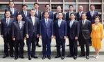 公明党横浜市会議員団(私は後列左から3人目)
