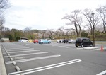 空きが目立ったこども自然公園の駐車場