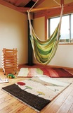 人気手織絨毯「ギャベ」が展示販売