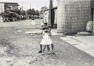 昭和30年代の鶴ヶ峰駅周辺=提供・程嶋定光さん