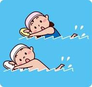 冬の短期水泳教室募集中