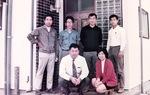 北澤社長の実家が事務所だったころ(1972年)