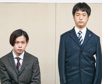 日向さん(右)と齊藤さん=提供写真