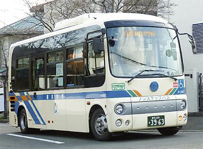 興和台と西谷駅  バス開通