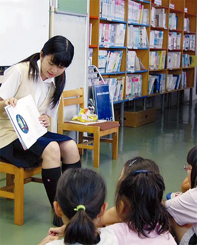 本の楽しさ、児童に