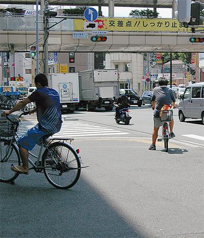 「自転車は車両」再認識を