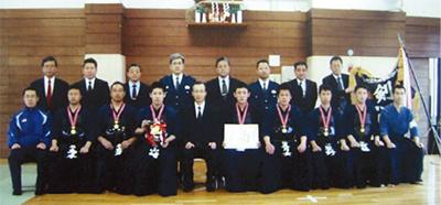 剣道で3連覇