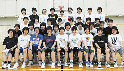 女子バスケ、関東へ