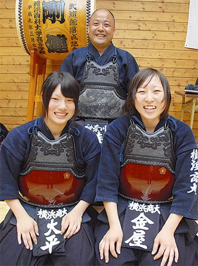 女性剣士が総体、国体へ