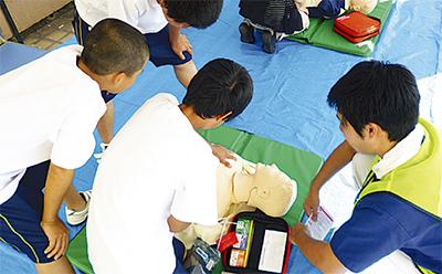 救急時の行動 体験