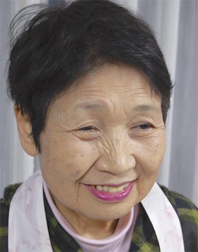 椎野悳子(とくこ)さん