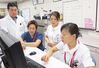 横浜市西部の急性期病院