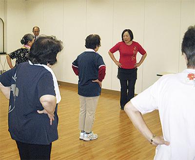 3B体操で健康促進