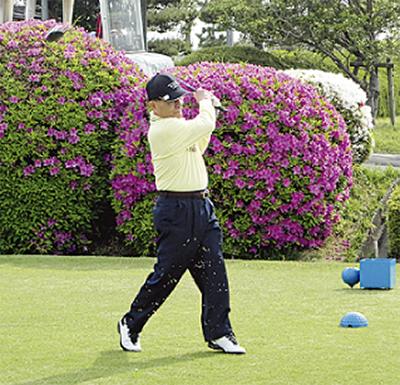 戸塚CCでゴルフを