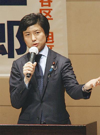 青柳衆議院議員が講演