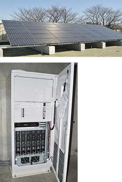 太陽光パネルを導入