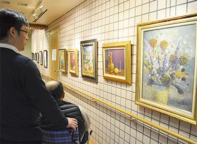 絵画と彫刻 二人展